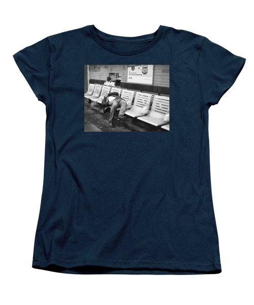 Women's T-Shirt (Standard Cut) featuring the photograph Paris Metro by Hugh Smith