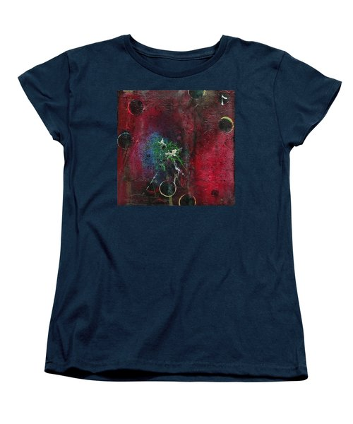Women's T-Shirt (Standard Cut) featuring the painting Passion 1 by Nicole Nadeau