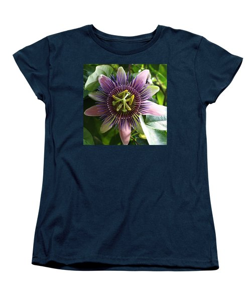 Passion Flower 2 Women's T-Shirt (Standard Cut) by Bruce Bley