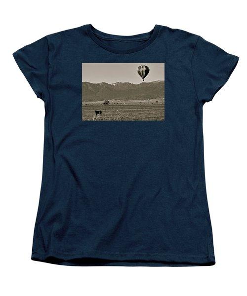 Women's T-Shirt (Standard Cut) featuring the photograph Pastoral Surprise by Eric Tressler