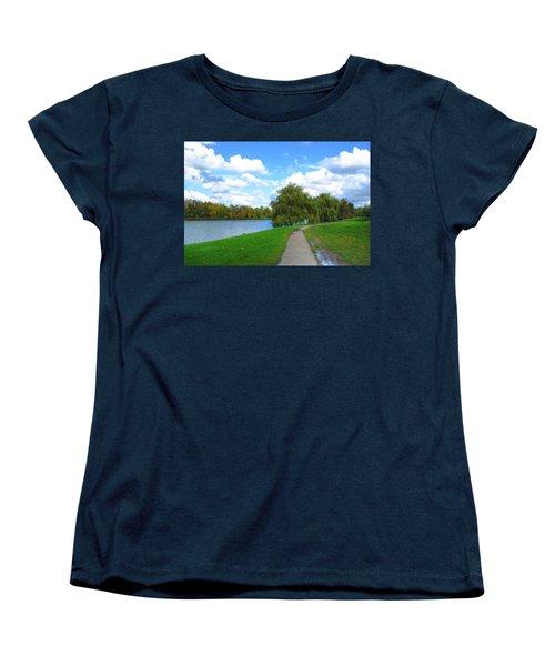 Women's T-Shirt (Standard Cut) featuring the photograph Path by Michael Frank Jr