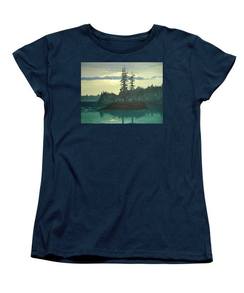 Peace And Quiet Women's T-Shirt (Standard Cut) by Norm Starks
