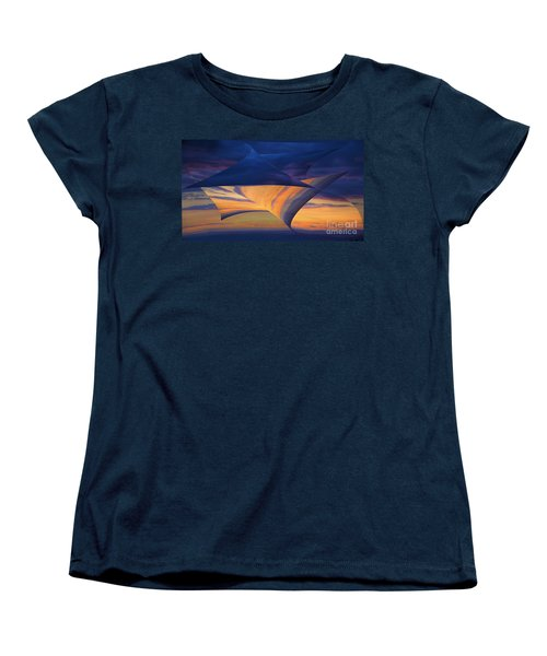 Women's T-Shirt (Standard Cut) featuring the photograph Peeling Back The Layers by Clare Bambers