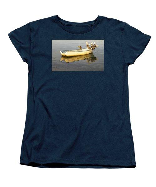 Pelican Express Women's T-Shirt (Standard Cut) by Anne Mott
