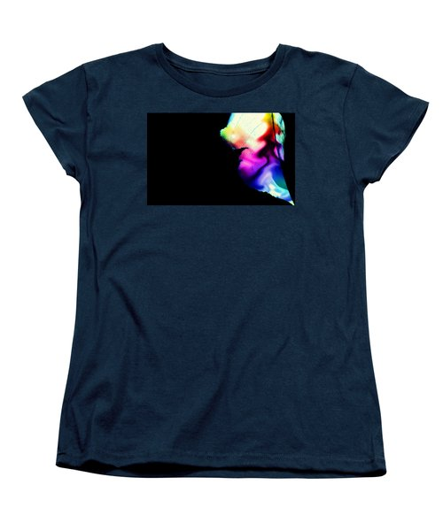 Women's T-Shirt (Standard Cut) featuring the photograph Phycadelic Leaf by Jessica Shelton
