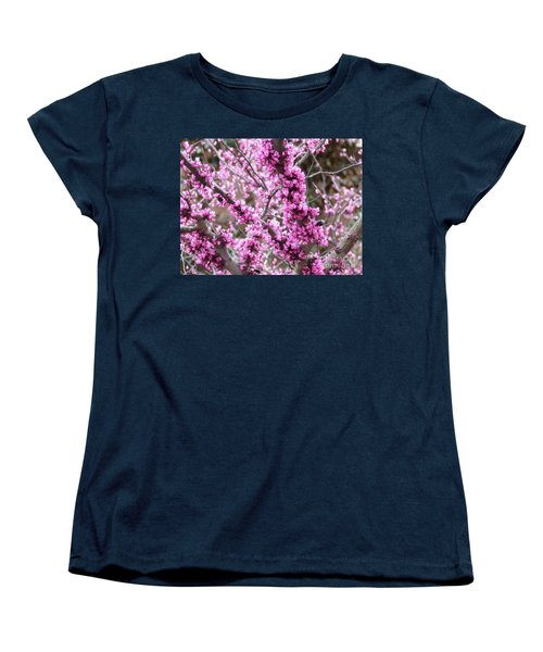 Women's T-Shirt (Standard Cut) featuring the photograph Pink Flower by Andrea Anderegg
