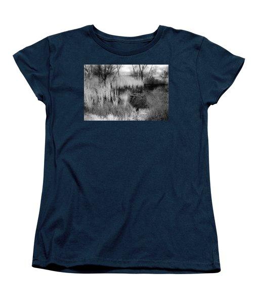 Pond Women's T-Shirt (Standard Cut) by Mark Greenberg