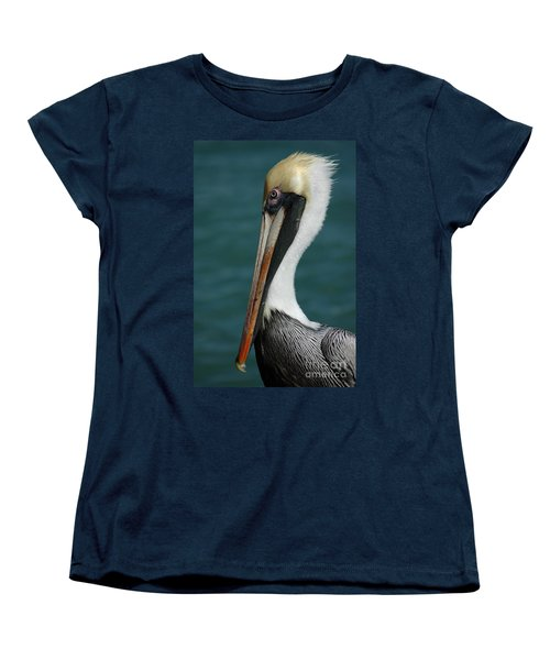 Posing For The Tourists Women's T-Shirt (Standard Cut) by Vivian Christopher