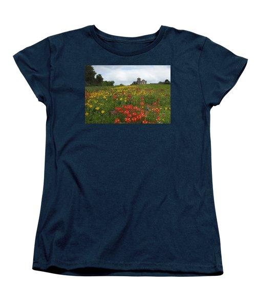 Presidio La Bahia 1 Women's T-Shirt (Standard Cut) by Susan Rovira