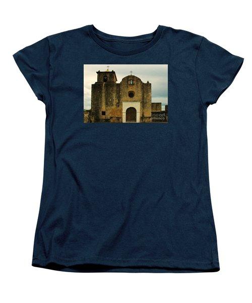 Women's T-Shirt (Standard Cut) featuring the photograph Presidio La Bahia by Vivian Christopher