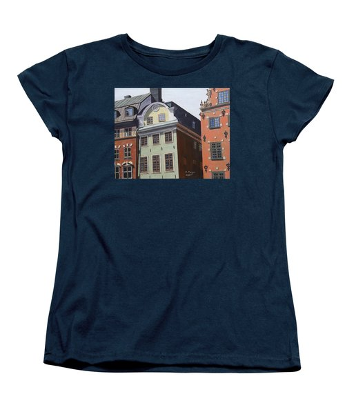 Pretty Faces Women's T-Shirt (Standard Cut) by Alan Mager