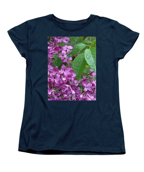 Purple Lilac Women's T-Shirt (Standard Cut) by Laurel Best
