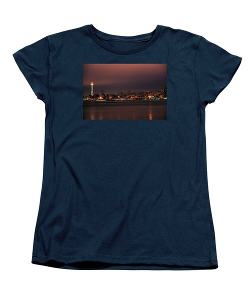 Purple Sky Morning Women's T-Shirt (Standard Cut)