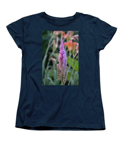 Purple Spear Women's T-Shirt (Standard Cut) by Bonnie Myszka