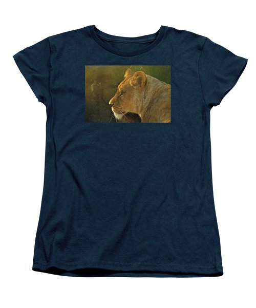 Pursuit Of Pride Women's T-Shirt (Standard Cut) by Laddie Halupa