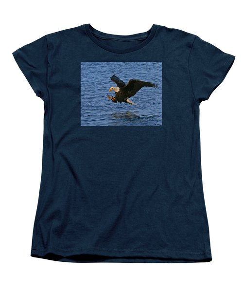 Women's T-Shirt (Standard Cut) featuring the photograph Ready To Strike by Doug Lloyd