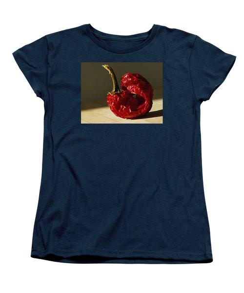 Women's T-Shirt (Standard Cut) featuring the photograph Red Pepper by Joe Schofield