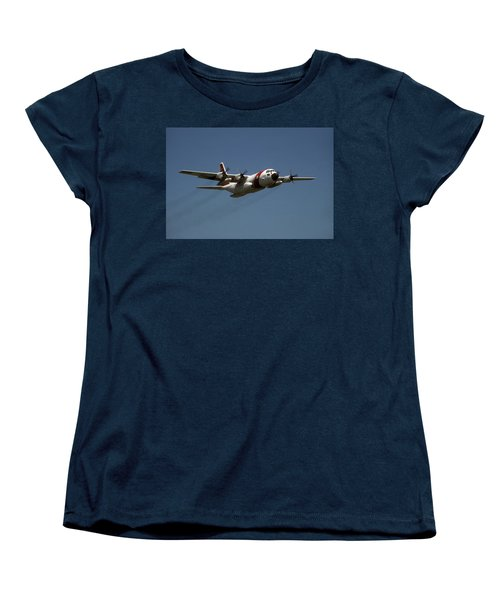 Women's T-Shirt (Standard Cut) featuring the photograph Red White And Blue by Steven Sparks