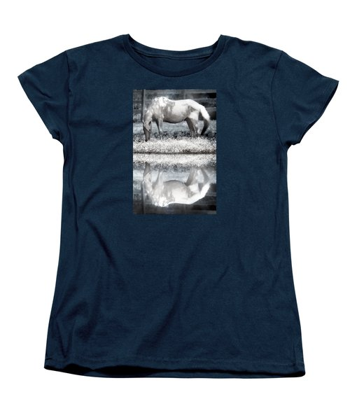 Women's T-Shirt (Standard Cut) featuring the digital art Reflecting Dreams by Mary Almond