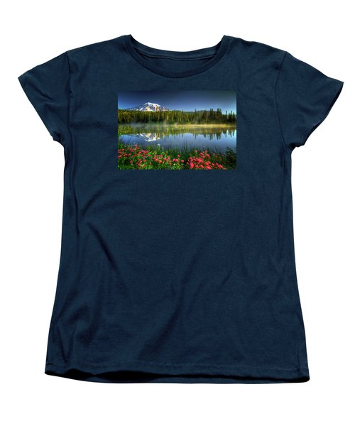 Reflection Lakes Women's T-Shirt (Standard Cut)