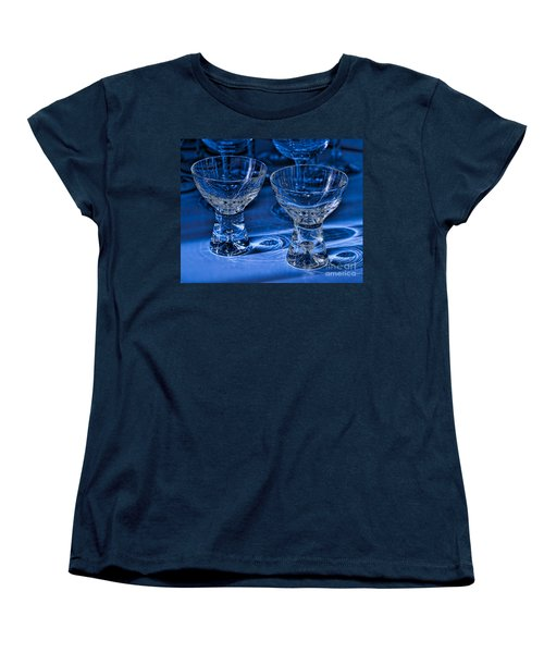 Reflections In Blue Women's T-Shirt (Standard Cut)