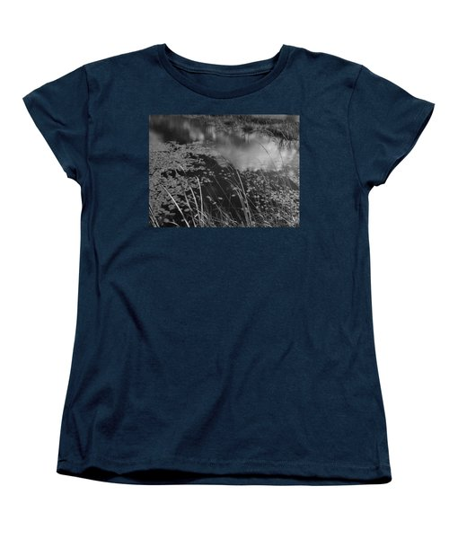 Reflections In The Pond Women's T-Shirt (Standard Cut) by Kathleen Grace