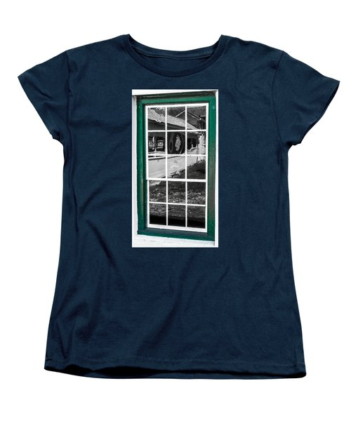 Reflections Of The Past Women's T-Shirt (Standard Cut) by Shannon Harrington
