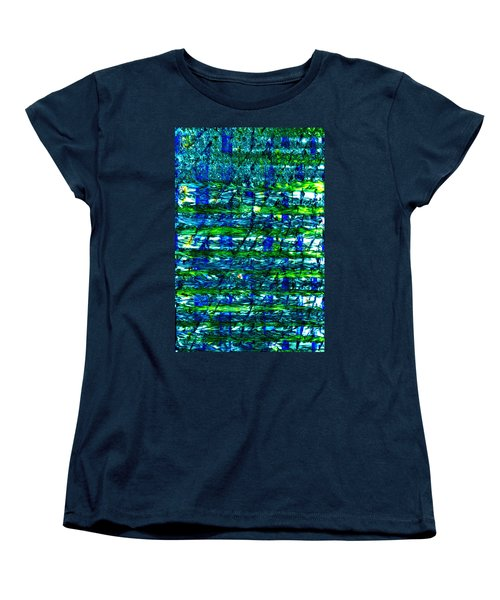 Women's T-Shirt (Standard Cut) featuring the mixed media Rice Harvest by Terence Morrissey