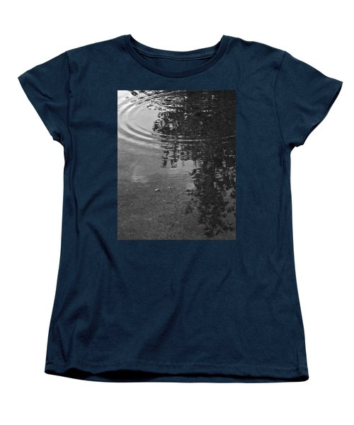 Women's T-Shirt (Standard Cut) featuring the photograph Rippled Tree by Kume Bryant