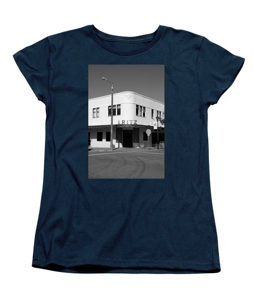 Ritz Building Eureka Ca Women's T-Shirt (Standard Cut) by Kathleen Grace
