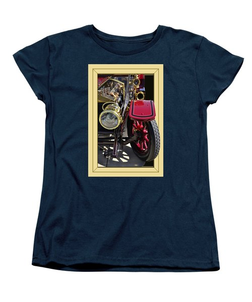 Women's T-Shirt (Standard Cut) featuring the photograph Rolls Out by Larry Bishop