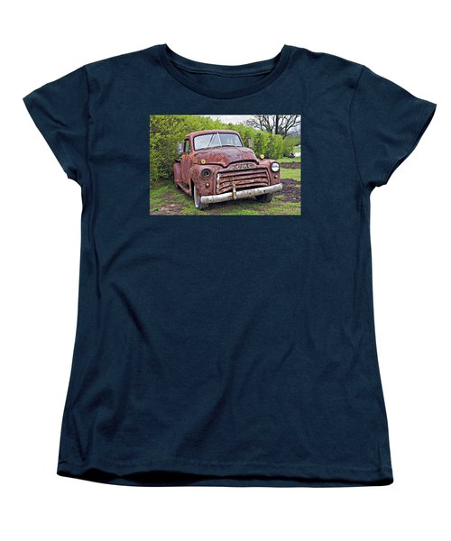 Sad Truck Women's T-Shirt (Standard Cut) by Susan Leggett