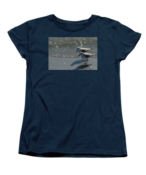 Sandpiper 5 Women's T-Shirt (Standard Cut) by Joe Faherty