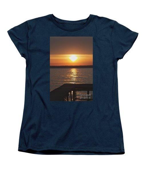 Women's T-Shirt (Standard Cut) featuring the photograph Seneca Lake by William Norton