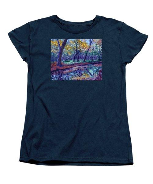 Sewp Creek Women's T-Shirt (Standard Cut) by Stan Hamilton