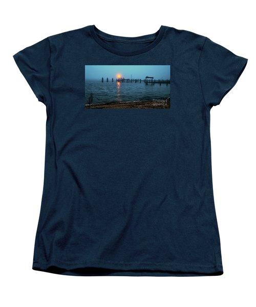Shhh Listen Women's T-Shirt (Standard Cut) by Clayton Bruster