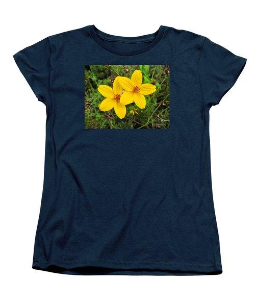 Side By Side Women's T-Shirt (Standard Cut) by Sean Griffin