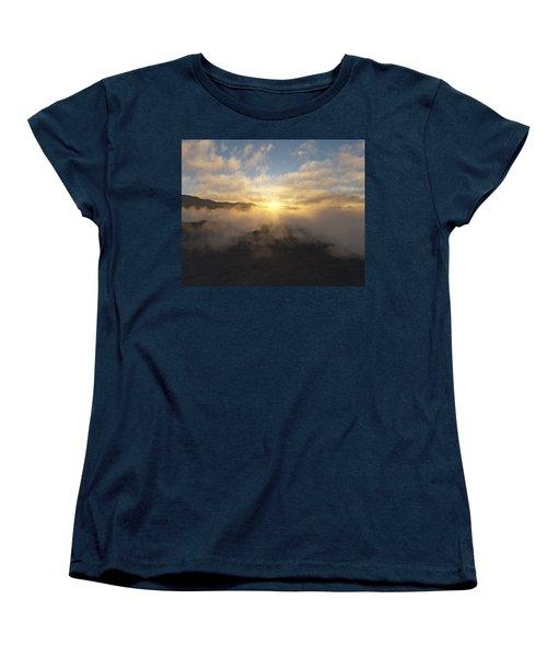 Sierra Sunrise Women's T-Shirt (Standard Cut) by Mark Greenberg