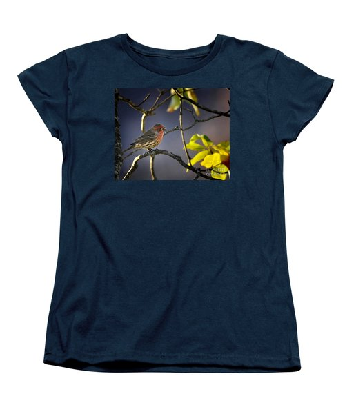 Women's T-Shirt (Standard Cut) featuring the photograph Singing In The Morning by Nava Thompson