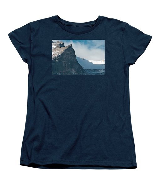 Snowy Flatirons Women's T-Shirt (Standard Cut) by Colleen Coccia