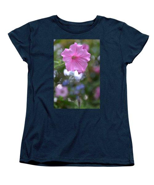 Soft Pink Women's T-Shirt (Standard Cut) by Bonnie Myszka