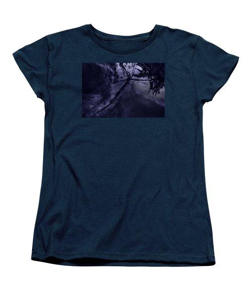 Space Dropping Women's T-Shirt (Standard Cut) by John Hansen