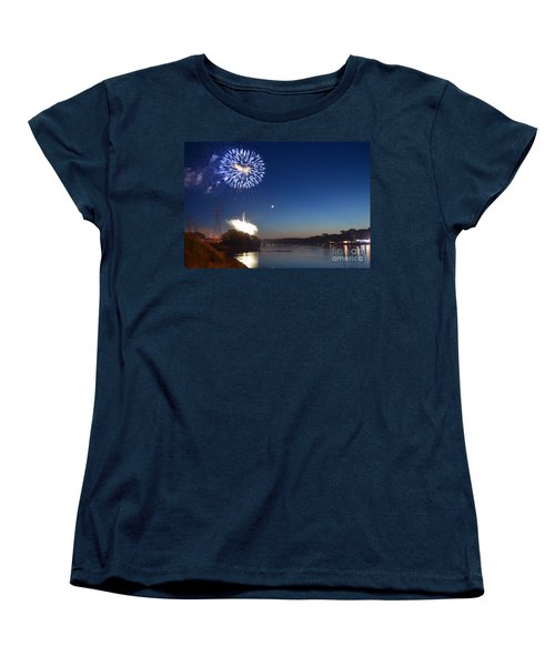 Sparkling Water  Women's T-Shirt (Standard Cut) by Sue Stefanowicz