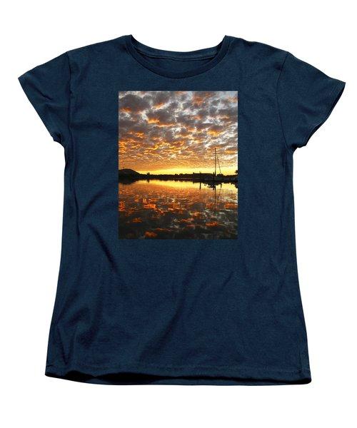 Spectacular Mazatlan Sunset Women's T-Shirt (Standard Cut) by Anne Mott