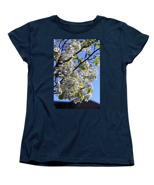 Women's T-Shirt (Standard Cut) featuring the photograph Spring Blooms by Kay Novy