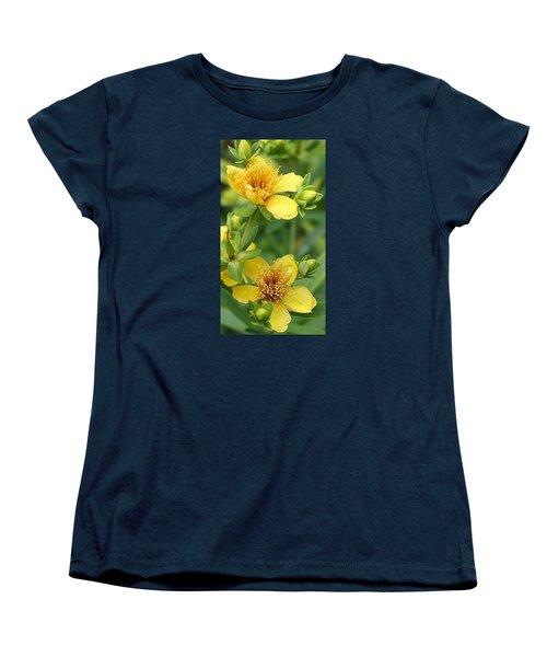 Women's T-Shirt (Standard Cut) featuring the photograph St John's-wort by Bruce Bley