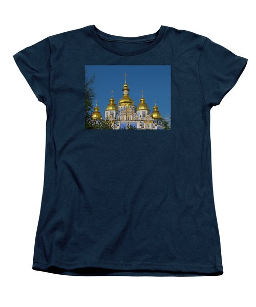 Women's T-Shirt (Standard Cut) featuring the photograph St. Michael's Cathedral by David Gleeson