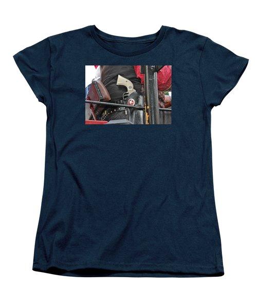 Stagecoach Guard Women's T-Shirt (Standard Cut) by Bill Owen