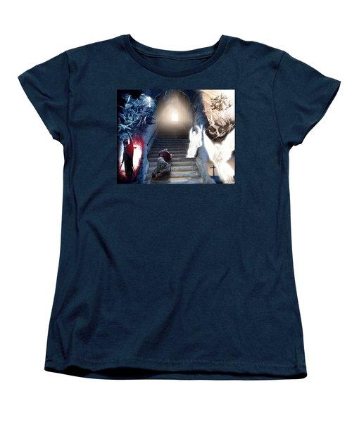 Stairway To Heaven Women's T-Shirt (Standard Cut) by Bill Stephens