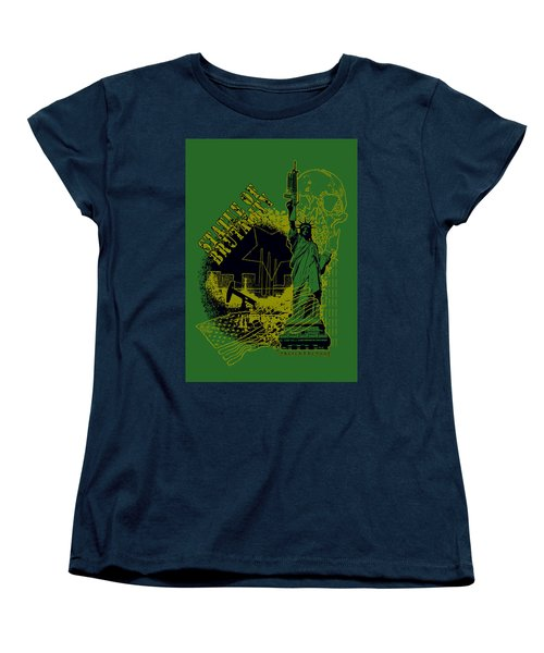 Statue Of Brutality  Women's T-Shirt (Standard Cut) by Tony Koehl